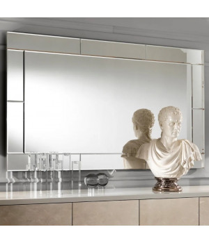 Зеркальное панно настенное