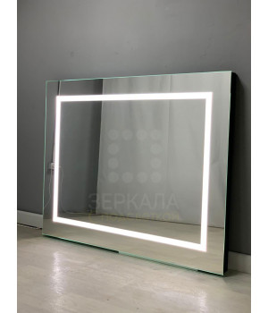 Гримерное зеркало без рамы 60х80 со светодиодной подсветкой