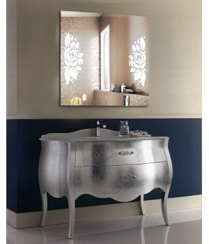 Зеркало для ванной с LED подсветкой София 60x60 см